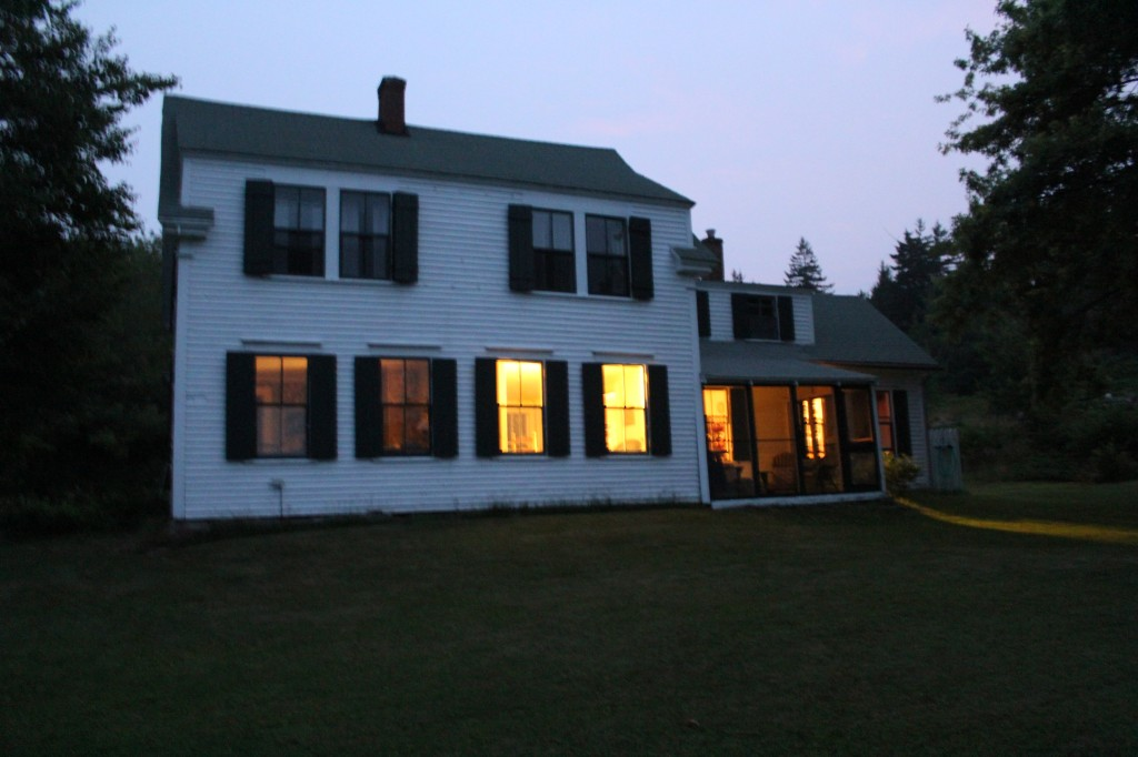 Maine Farmhouse exterior