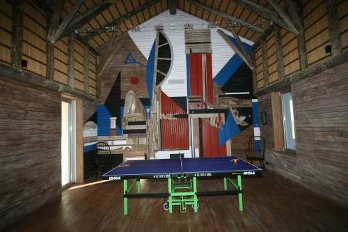 Game room at Estancia Vik