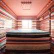 "Dutch furniture designer Richard Hutten calls his sleeping installation ""Llayers"""