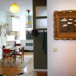 Matthew and Tina renovated the space, knocking down a couple walls to create an open floor plan.
