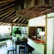 The open kitchen and outdoor living area of Eugenia Casa.