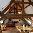 The sprawling attic suite La Maison de Claudine. Loud sigh.