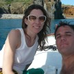 Jason and his girlfriend in the Aeolian Islands