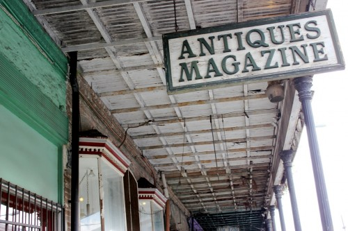 Dozens of antique stores and interiors boutiques line Magazine Street.