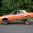 Chavo with his '83 Cutlass Supreme. Detroit, 2008