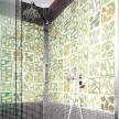 Love these tiles in the shower.