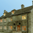 The rustic stone exterior exudes pure Cotswold charm.