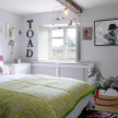 Joanna's daughter's playful bedroom.
