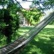 A hammock in the garden. It&#039;s well-documented that Russian ballerina Lydia Lopokova used to dance on the lawns under the moonlight.