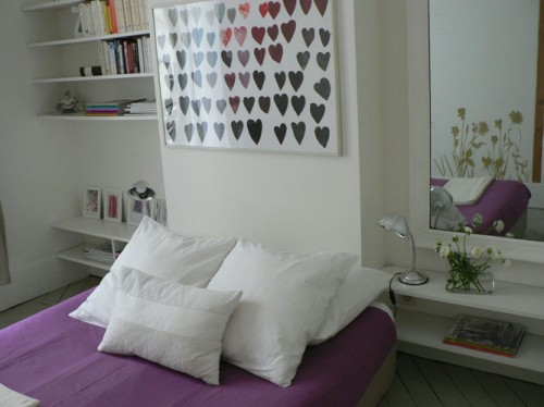 One of the two adorable bedrooms.