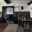 Olde Bell Inn. this place is the epitome of old English comfort. All rush matting, pewter pitchers, colorful Welsh woolen blankets, locally crafted high-backed chairs, and a flock of sheepskin throws tossed in every direction, it's the polar opposite of slick and corporate. The in-house restaurant is fantastic, and there are several out-buildings for special events (often weddings, but they've certainly hosted plenty of presentations in the barn). And in terms of generating creativity, I felt like I could write a novel in front of the fireplace in a single afternoon. It's that kind of place.