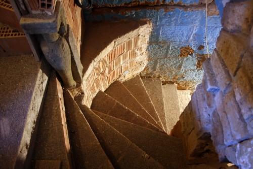 domus civita may 2012 new stair to caves
