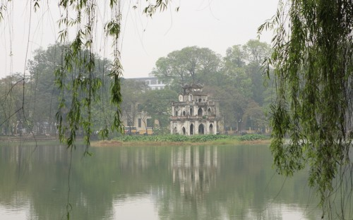Hoan Kiem Lake - Hanoi Vietnam