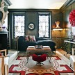 The opium den-inspired drawing room.