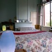 Guest room at La Maison de Claudine, named after a novel by Colette.