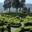 The Marqueyssac Gardens in the Dordogne