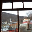 The historic homes and buildings of Harpers Ferry.