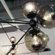 Close-up of Jason's Modo Chandelier (available at DWR)