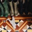 Rubber boots (Photo by Matthew Hranek)