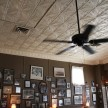 Walls filled with old, old photographs and a crisp tin ceiling at Jack Fry's.