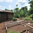 Coop build at Tracy's house in Tororo.