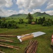 Coop material drop-off in gorgeous Manafwa District near Mbale.